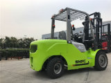 4 Diesel van de ton Vorkheftruck met de Motor van Japan Isuzu