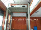 Garage que estaciona el elevador del coche de poste 4