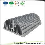 Profilo industriale di alluminio del dissipatore di calore 6063 T5/T6 per macchinario