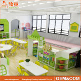 Мебель питомника младенца дуба устанавливает Preschool мебель детсада для сбывания