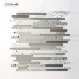 Pedazos de cristal del azulejo de mosaico del arte de los materiales para Backsplash