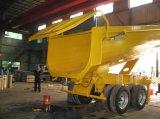 De hydraulische Aanhangwagen van de Kipper van 2 Assen