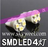 T10 4SMD 4 ampoules LED SMD 1210voiture Témoin lumineux de 194 168 192 W5W 5050