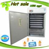 販売のための1000個の卵のセリウムのAutomatiの鶏の卵の定温器