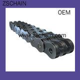 Chaînes de duplex d'acier inoxydable de carbone avec la boîte de vitesses