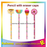 Eraser Cartoon Top를 가진 주문 School Pencil