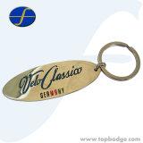 Настраиваемый логотип Engrave металлические цепочки ключей для подарков