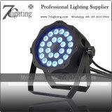 Indicatore luminoso esterno silenzioso di PARITÀ di illuminazione RGBW 24X10W LED