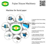 2 carriles automática de relieve plegable máquina de papel facial tejido