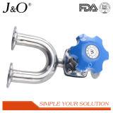 Válvula de diafragma sanitaria de la manera del tipo tres del acero inoxidable U