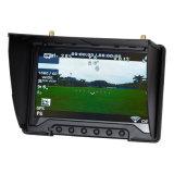 Zwarte Parel 7 Duim Fpv 5.8GHz LCD van de Diversiteit DVR Monitor met HDMI