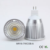 MR16 7W 85-265 V COB foco LED