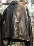 Biker Fashion PU Leather der Dame mit Reißverschluss