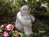 Statue de marbre, sculpture de marbre, statue en pierre de jardin