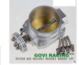 Corps argenté mécanique de commande de puissance pour Nissans Rb25 emballant la tubulure d'admission