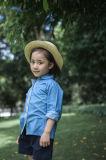 Chemises 100% de filles de coton pour le printemps/automne