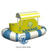 De kleurrijke BinnenBoot van de Piraat van het Spel van de Speelplaats Zachte voor Kinderen (zj-SP09)