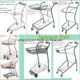 Panier de panier de supermarché de style japonais