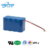 pacchetti della batteria dell'attrezzo a motore del polimero del litio di 14.4V 10ah
