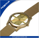Montre spéciale de modèle de cadran pour la montre de mode ultra-mince de dames