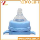 Оптовая ниппель бутылки младенца силикона качества еды (YB-AB-037)