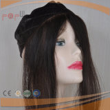 Человеческие волосы отсутствие Frontal парика зажимов, сжатия шнурка человеческих волос
