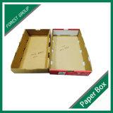 Caja de fruta de papel para el embalaje de Cherry en China