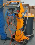 Fludizingのホッパーが付いている手動粉のスプレーシステム