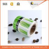Etiqueta engomada impresa auta-adhesivo del papel del PVC de la etiqueta de la impresión de encargo de la escritura de la etiqueta