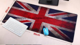 마우스와 키보드를 위한 큰 크기 마우스 패드를 인쇄하는 관례