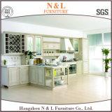 Altos muebles de la cocina de la puerta de cabina del lustre modificados para requisitos particulares