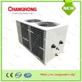 중앙 에어 컨디셔너 공기에 의하여 냉각되는 소형 냉각장치 및 열 펌프 단위