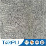St-Tp60 330GSM 100% Poly Mattress Ticking Tecido de malha Jacquard