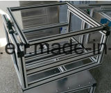 Perfil de alumínio para cremalheiras