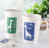 In het groot Goedkope Ceramische Kop, Ceramische Aangepaste Kop, de Ceramische Kop van de Koffie
