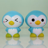 Vente Hot Blue Penguin Model PU Pressure Toys
