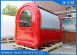 Kiosque d'aliments de préparation rapide de chariot du hot-dog Ys-Bf230-2