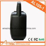 Preiswerter PlastikBluetooth beweglicher Laufkatze-Lautsprecher mit buntem