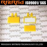 etiqueta programable del lavadero de la frecuencia ultraelevada de la resistencia 860-960MHz