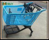 플라스틱 슈퍼마켓 쇼핑 카트 220 리터 Mjy-CPP220