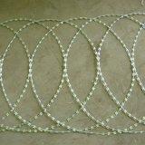 Плоский обруч Concertina провода бритвы