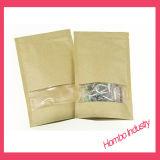 Kundenspezifischer Entwurfs-Aluminiumpackpapier-Beutel-Fastfood- Reißverschluss-Beutel für Kaffeebohnen, Muttern, Tee-Verpacken