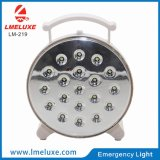 Un indicatore luminoso Emergency ricaricabile portatile dei 19 LED
