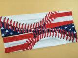 Manga de braço de compressão desportiva de basquete de beisebol de futebol personalizado