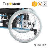 Облегченная складная кресло-коляска электричества