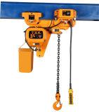 Faible marge de 3 tonnes palan électrique à chaîne de levage