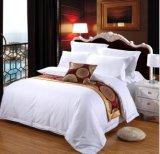 호텔 수집 호화스러운 연약한 솔질된 Microfiber 4PCS 침대 시트