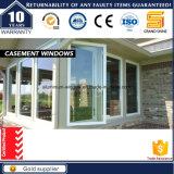 Het goedkope Correcte Venster van het Glas van de Schommeling van de Gordijnstof van het Aluminium Insulatio