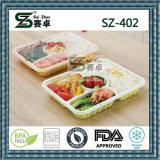 Wegwerfplastikmittagessen-Kasten der nahrung4compartment