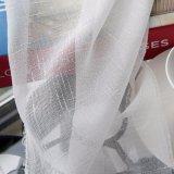 새로운 현대 면 리넨 단단한 투명한 커튼 (18F0092)